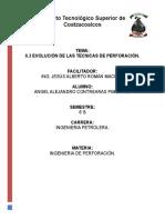 6.3 Evolucion de Tecnicas de Perforacion