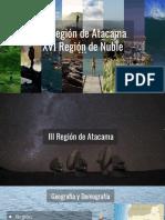 III y Xvi Región de Chile
