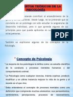 Concepto y Fundamentos de La Psicología 02-2017