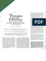 David Brown Thrones Orichas