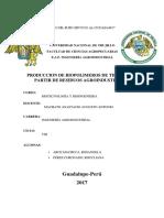 Biorreactores de Columna de Burbujeo y Fotobiorreactores