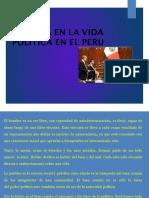 La Etica en La Vida Politica Del Peru