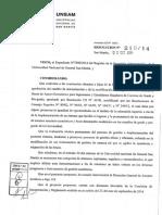 Resoluciones 67 RCS 219 14