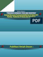 Publikasi Berbasis Tesis Dan Disertasi