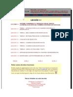 4.- Lecciones de Autocad