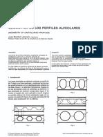 Geometria de Los Perfiles Alveolares