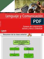 Clase 13 Síntesis de Comprensión Lectora y Léxico Contextual