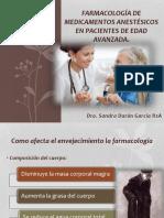Farmacología de Medicamentos en Pacientes de Edad Avanzada