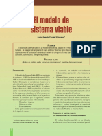 El Modelo de Sistema Viable