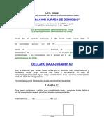 Ficha de Ingreso Cvj - 2 2016
