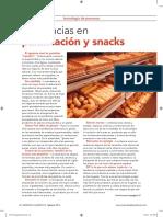 Tendencias en Panificacion y Snack