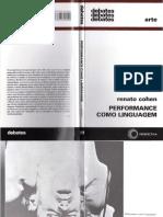 COHEN, Renato - Performance como Linguagem.pdf