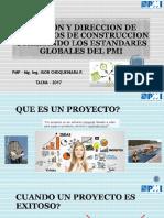 Gestion y Direccion de Proyectos de Construccion - Pmi Tacna