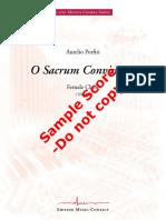 C3 - Aurelio Porfiri - O Sacrum Convivium - EMC 309997 01