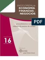 Enciclopedia de Economía y Negocios Vol. 16Q1