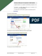 Pasos de Enrolamiento Portal Proveedores Del Banco Chile