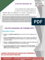 Política Regional de Turismo (Prt)