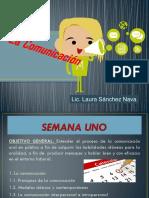 1- La Comunicación. Lic. Laura Sánchez Nava.ppt