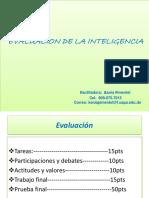 Diapositivas- Evaluacion de La Inteligencia