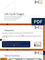 Life Cycle Stages Presentation (Technical Processes-Fundamentals) v2.1