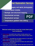 Geotermal Survey Eksplorasi