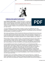Biografias - Louis Claude de Saint-martin