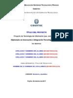 F01.- Informe de Proyecto