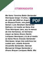 Mi Autobiografía Yannina