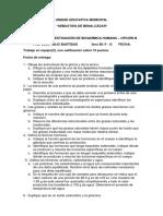 CUESTIONARIO DE BIOQUÍMICA (BACHILLERATO INTERNACIONAL)
