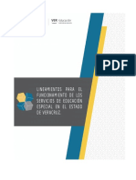 Lineamientos Preliminar Educ. Especial Estatal