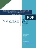 Vulnerability Assessment Sample Report_R1