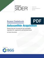 Astaxanthin Buyers Guide