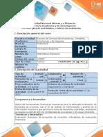 Guía de Actividades y Rúbrica de Evaluación - Fase 2 - Evaluar Alternativas de Proyectos de Inversión y Tomar Decisiones
