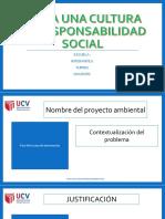 Modelo de Diapositivas Proyecto Ambiental