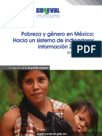 CONEVAL - Síntesis Género y Pobreza 2012