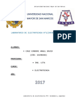 Informe Previo N3 Resistencia Electrica