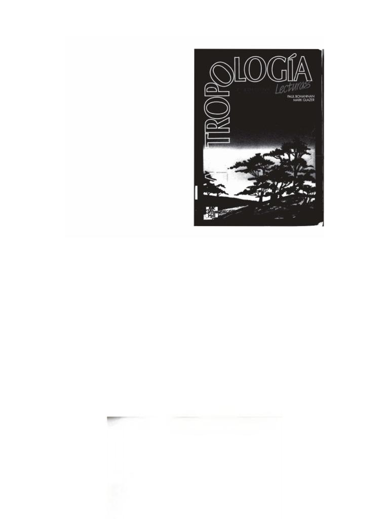 4e1e8f40dc Bohannan Glazer Antropologia
