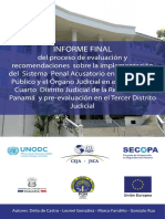 Informe Final Panama CEJA