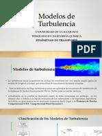 Modelos Turbulencia