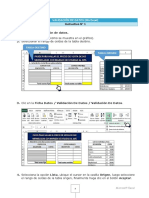 Excel Validacion de Datos