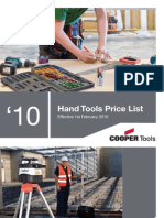 Cooper Tools Hand Tools Catalogue