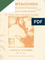 Orientaciones, Incluyendo Cartas Facsimiles Del Eminente Sabio Frances Dr. Serge Raynaud de La Ferriere