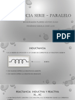 Impedancia Serie - Paralelo