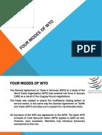 Four Modes - WTO