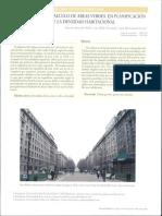 Modelo de Calculo de Areas Verdes en Planificación Urbana Desde La Densidad...