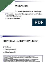 ATC 20 BuildingSafetyEvaluation