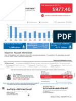 11511 Somerset Water Bill