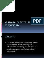 1. Historia Clinica en Psiquiatria