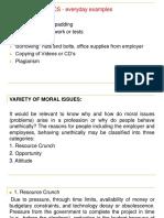 Ethics Unit 1