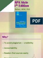 APA Style PowerPoint
